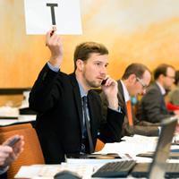 Abgabe von Telefongeboten