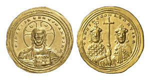 Basilius II., 976-1025. Histamenon, 1005-1025, Konstantinopel.
