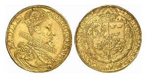 Polen. Sigismund III., 1587-1632. Portugalöser zu 10 Dukaten 1622.