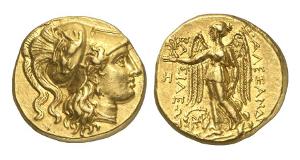 Makedonien. Alexander der Große, 336-323. Stater, 317-311, Babylon.