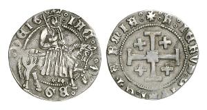 Zypern. Jakob II., 1460-1473. Groschen.