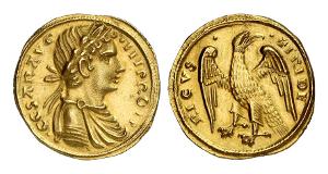 Sizilien. Friedrich II., 1197-1250. Augustalis nach 1231, Brindisi.