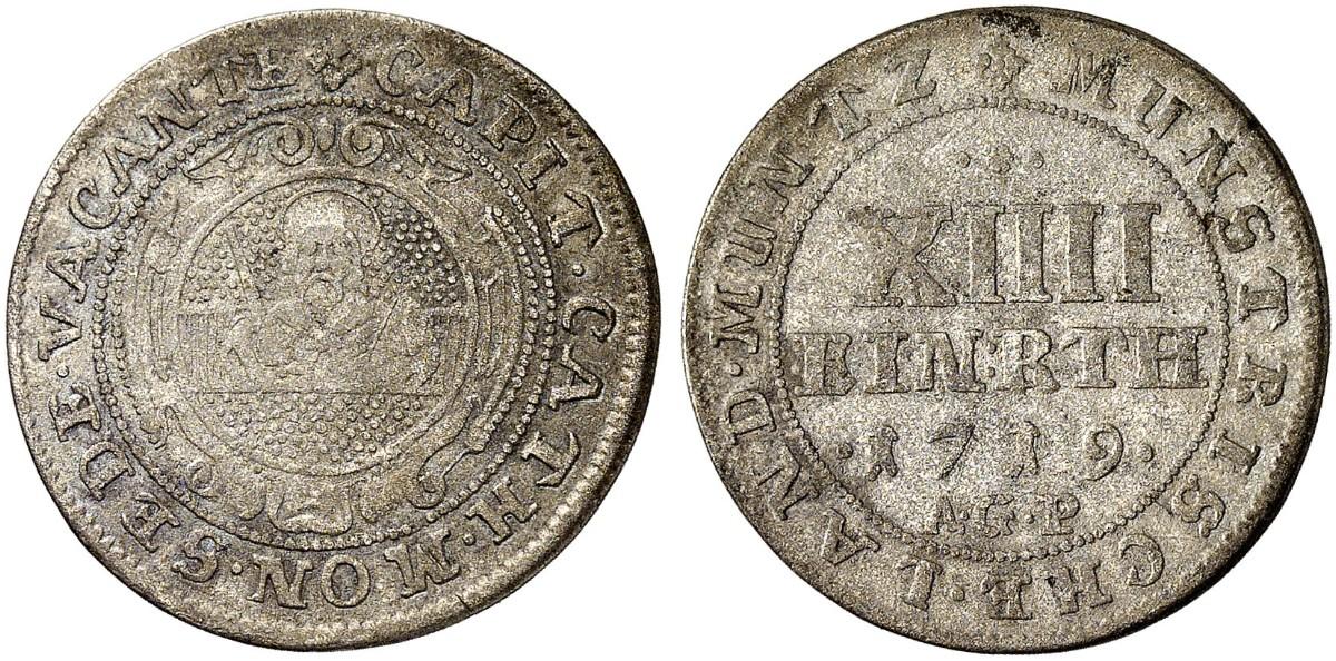 1719 Sedisvakanz Bistum Münster
