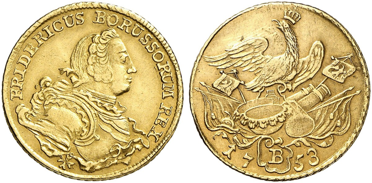 Friedrich Ii Der Große 1740 1786 Friedrichs Dor 1753 B Breslau