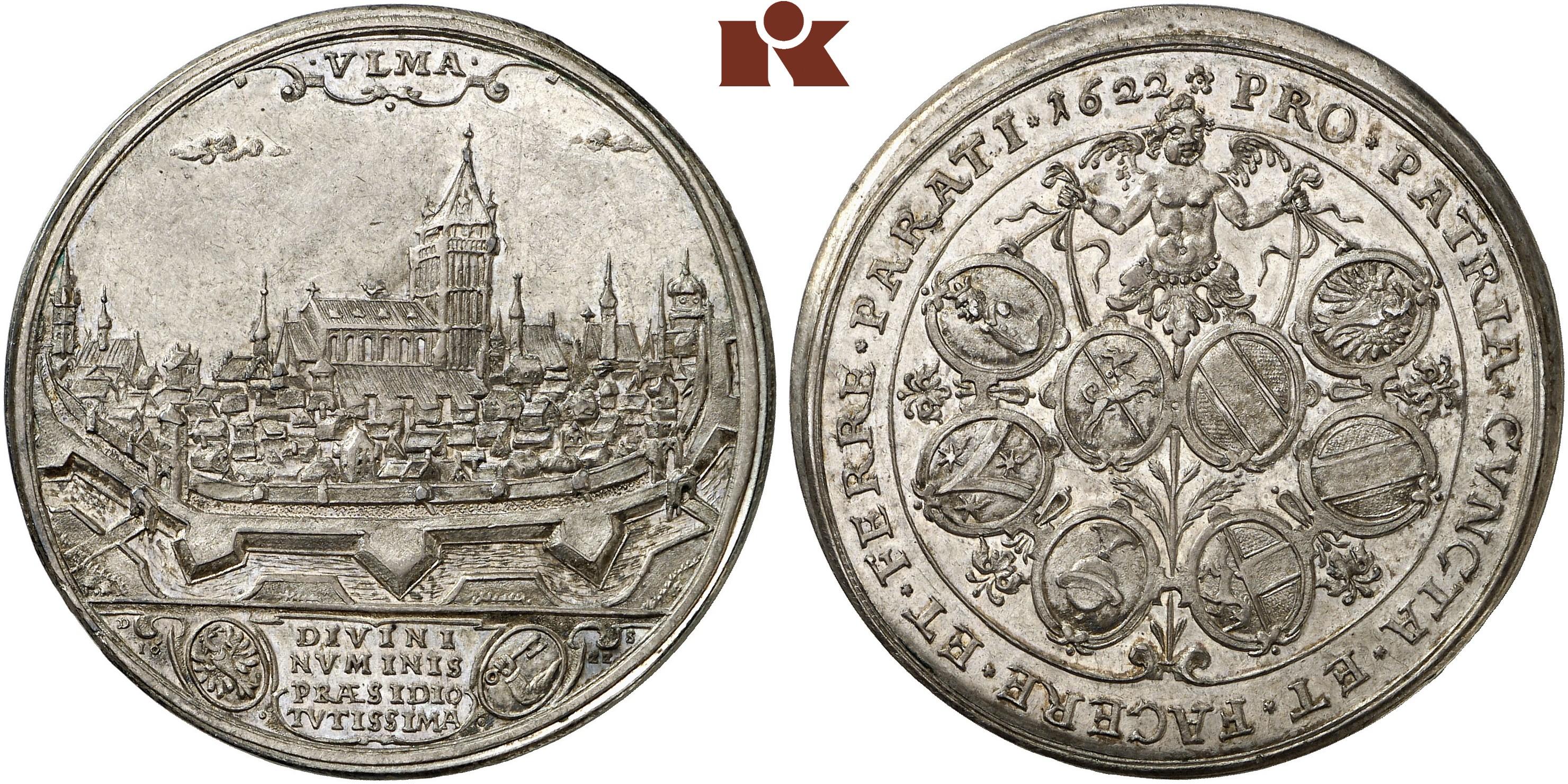 Schautaler 1622 Augsburg Forster 482 Nau 192