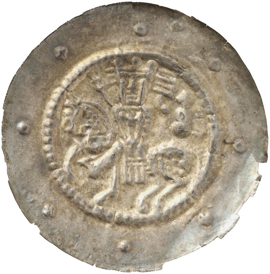 Friedrich Ii 1215 1250 Brakteat Berger Slg Bonhoff Slg