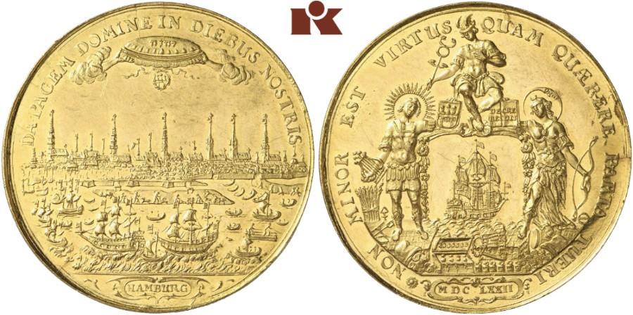 Bankportugalöser Zu 10 Dukaten 1672 Gaed 1603 Slg Vogel Auktion