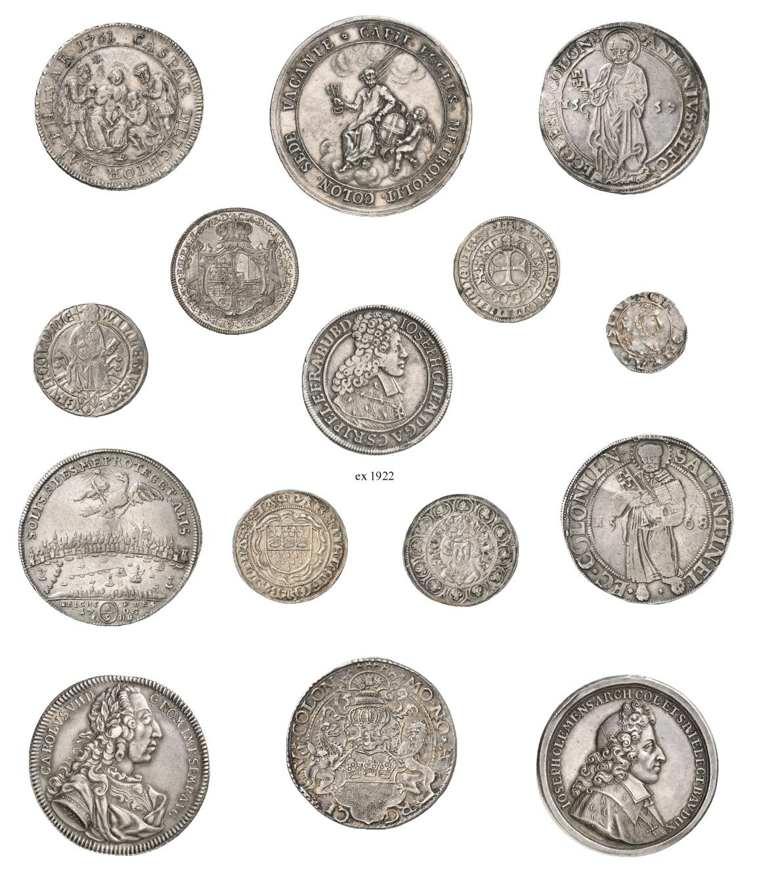 Sammlung Wolfgang Selke Die Münzen Des Erzbistums Und Der Stadt Köln