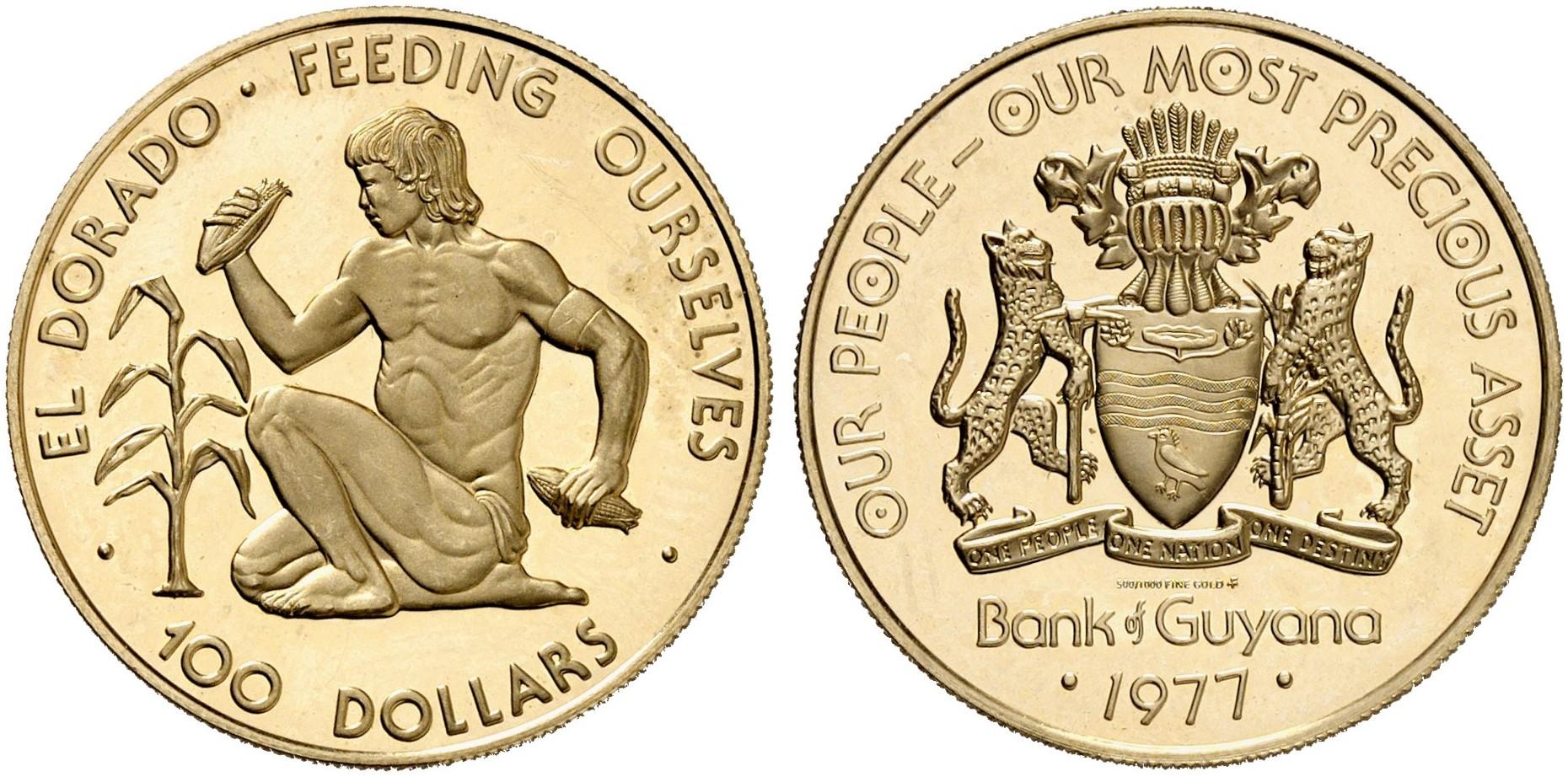 100 Dollars 1977  Fb  2