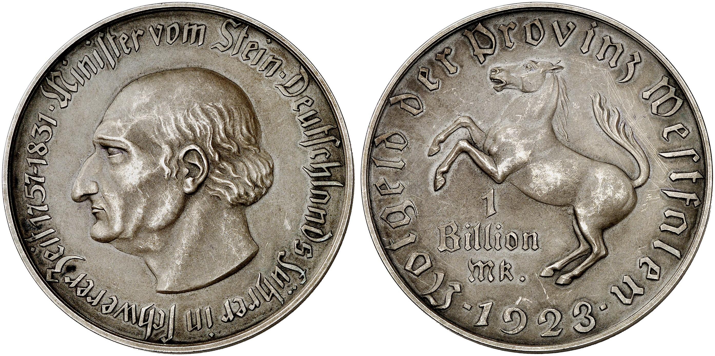 1 Billion Mark 1923. J. N28.