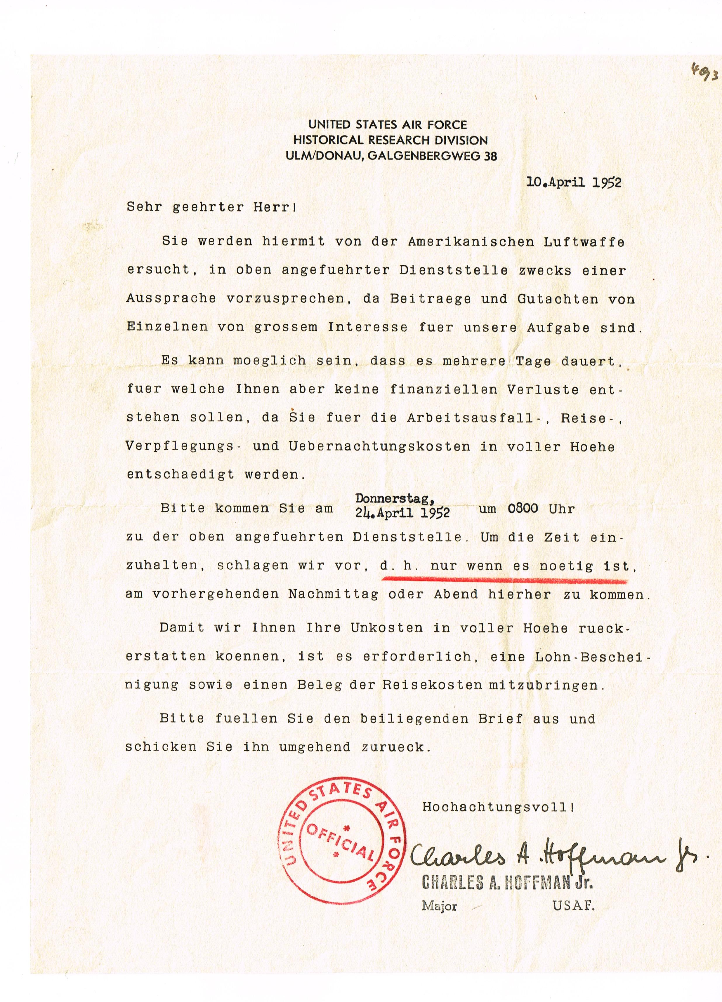 Ca. vier Dokumente des Obergefreiten August Weishaupt aus Albersfeld ...