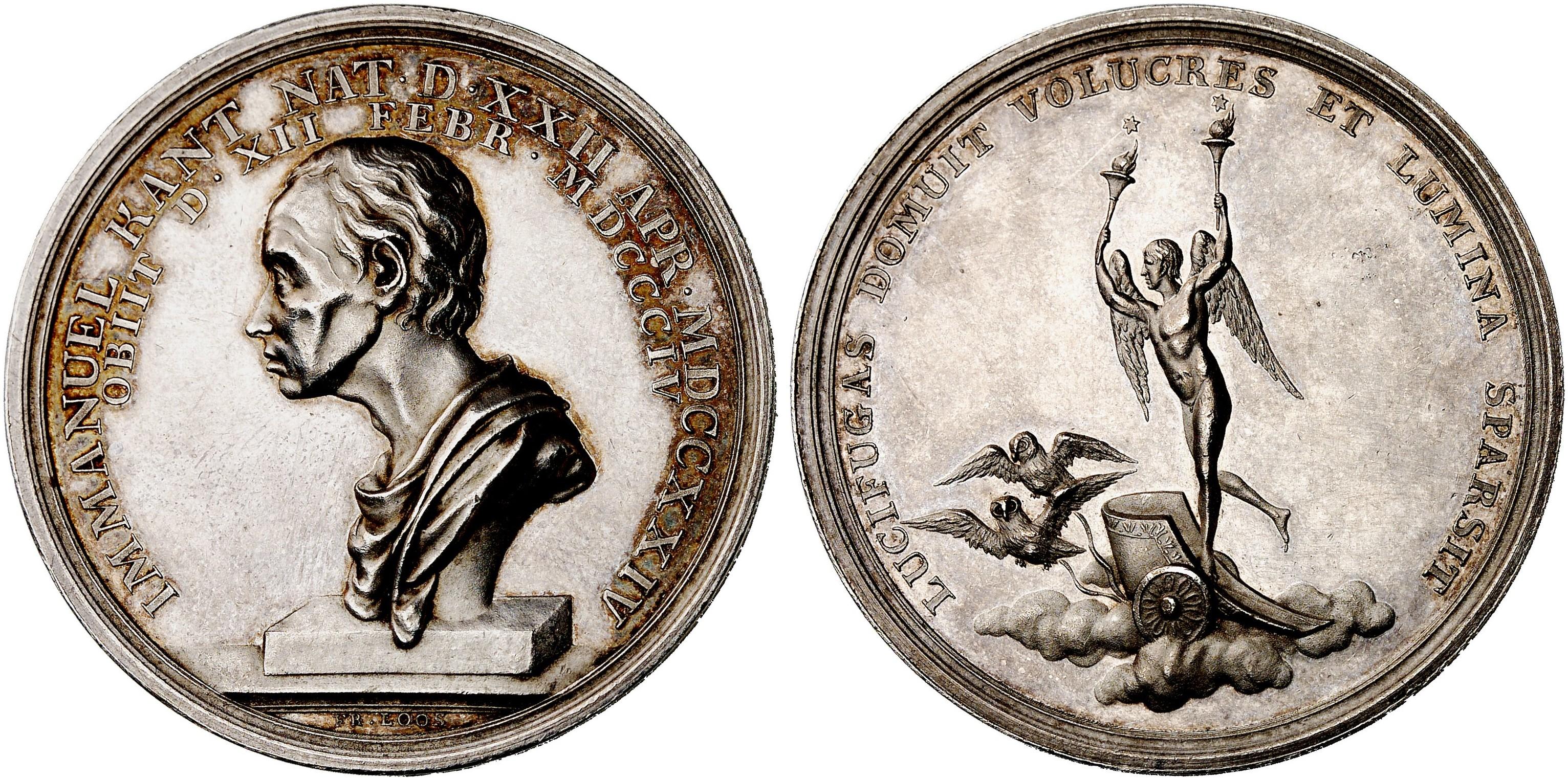 Friedrich Wilhelm Iii 1797 1840 Silbermedaille 1804 Laverrenz