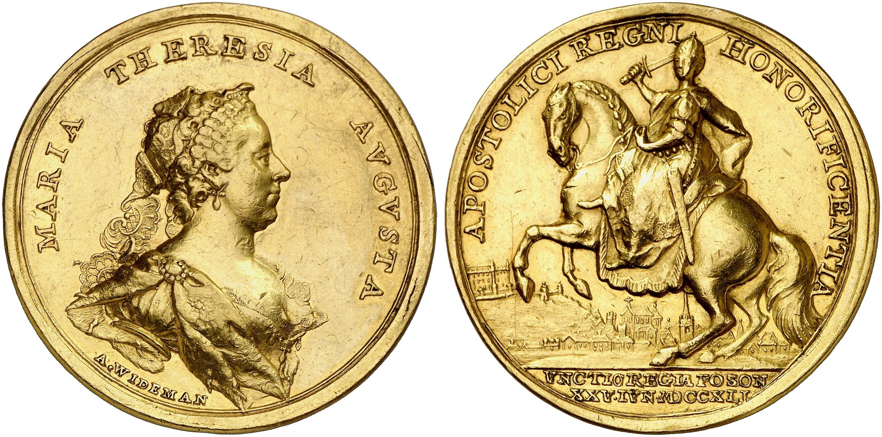 Die Münzen Maria Theresias