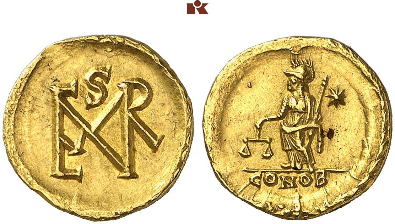Marcianus 450 457 Av Semissis Oder Semissis Gewicht