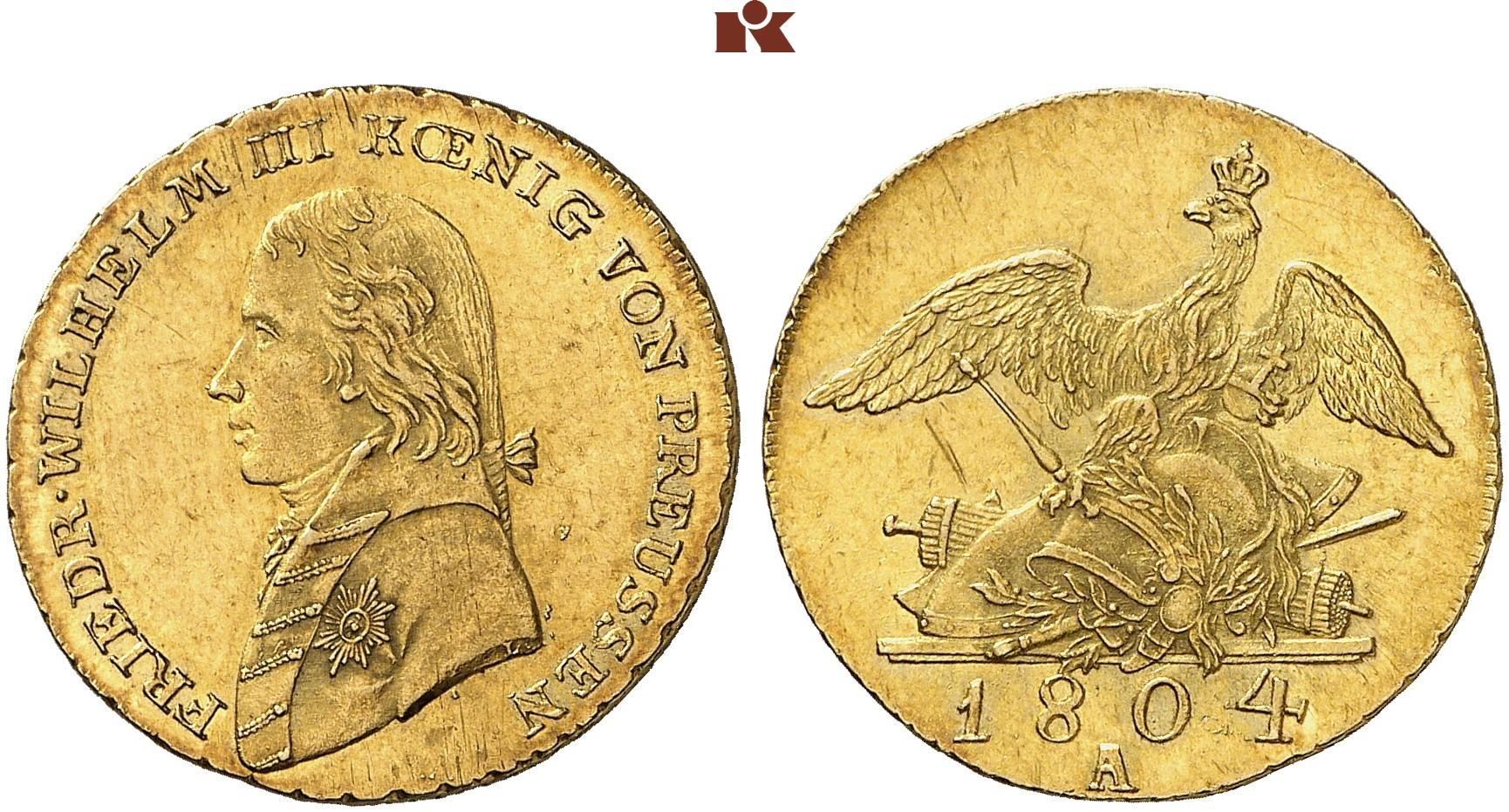 Friedrich Wilhelm Iii 1797 1840 Friedrichs Dor 1804 A 664 G