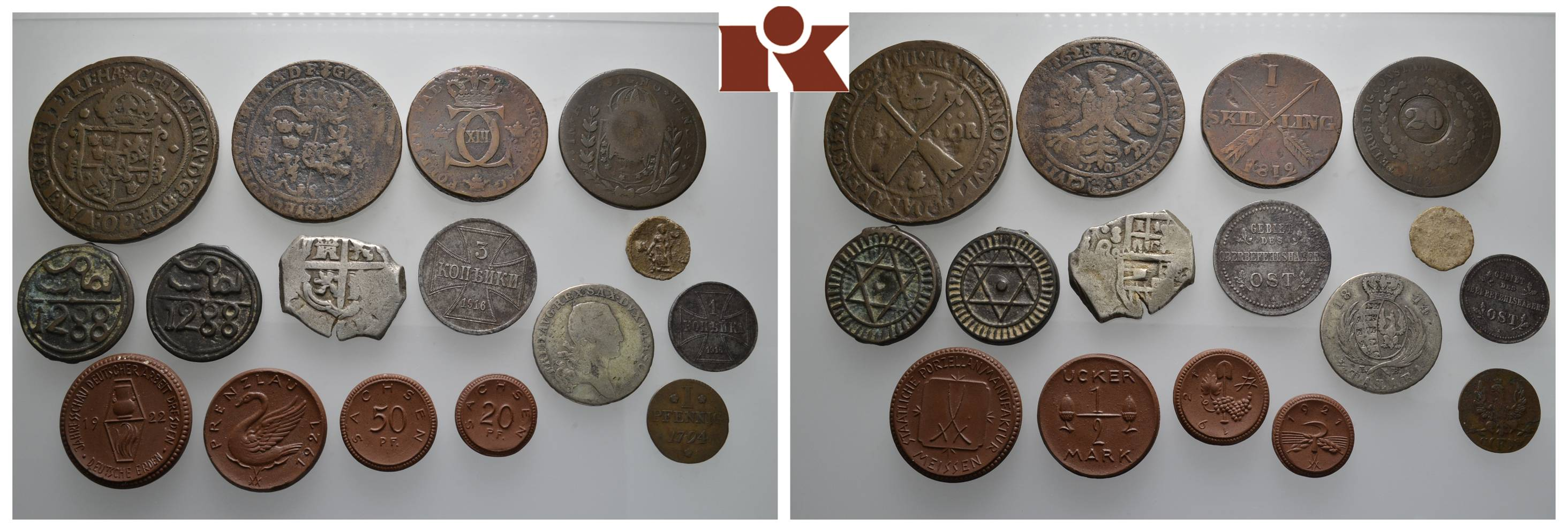 Diverse Deutsche Und Ausländische Münzen Und Medaillen Des 17 20