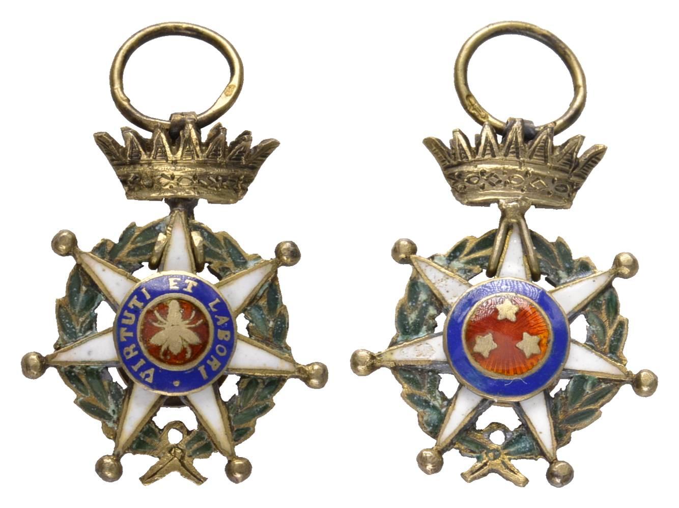 Ehrenzeichen einer nicht identifizierten alten Dekoration frankreich