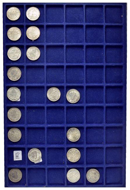 Umfangreiche Sammlung 1 Mark Stücke Des Kaiserreichs Von 1873 Bis